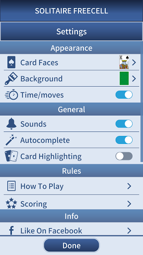 FreeCell Solitaire Classic 1.0.3 screenshots 3