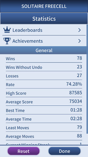FreeCell Solitaire Classic 1.0.3 screenshots 4