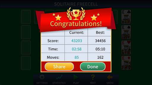 FreeCell Solitaire Classic 1.0.3 screenshots 6