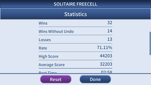 FreeCell Solitaire Classic 1.0.3 screenshots 7