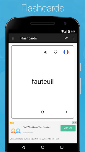 French English Dictionary 7.2.26 screenshots 7