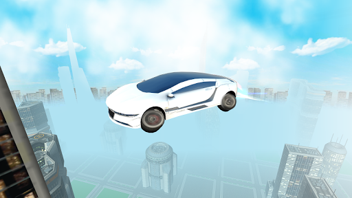 Futuristic Flying Car Driving screenshots 2