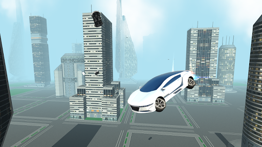 Futuristic Flying Car Driving screenshots 4