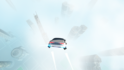 Futuristic Flying Car Driving screenshots 6