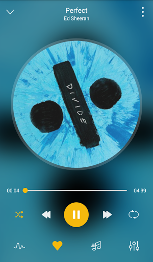 GO Music Player Plus -Free MusicThemesMP3 Player 1.6.0 screenshots 2