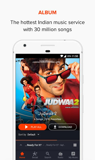 Gaana Music Bollywood Songs amp Radio screenshots 6