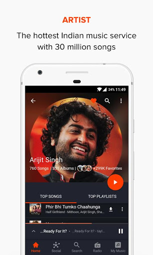 Gaana Music Bollywood Songs amp Radio screenshots 7