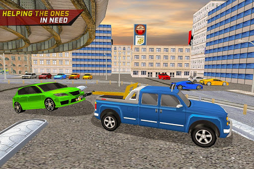 Gas Car Station Services Highway Car Driver screenshots 2