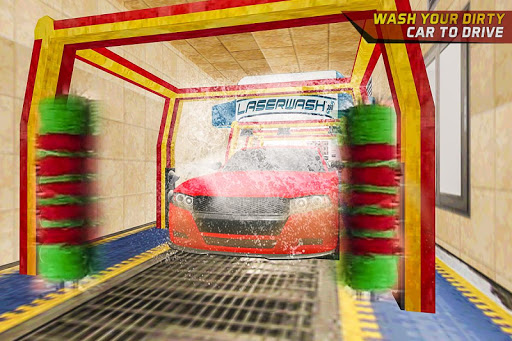 Gas Car Station Services Highway Car Driver screenshots 3