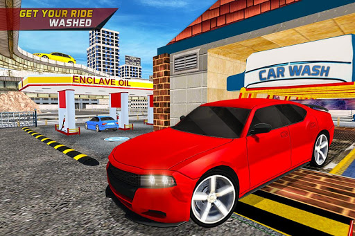 Gas Car Station Services Highway Car Driver screenshots 4