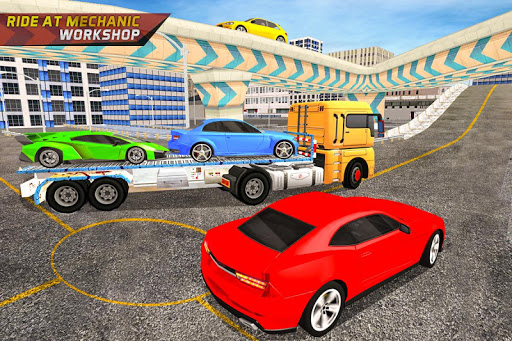 Gas Car Station Services Highway Car Driver screenshots 5