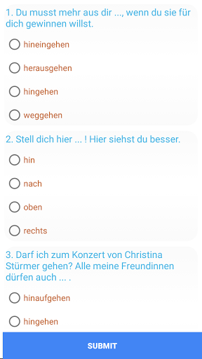 German Complete Grammar 1.9.0 screenshots 4