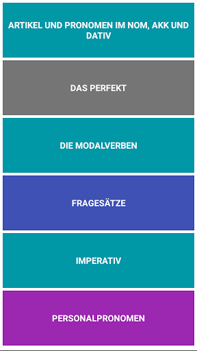 German Complete Grammar 1.9.0 screenshots 7
