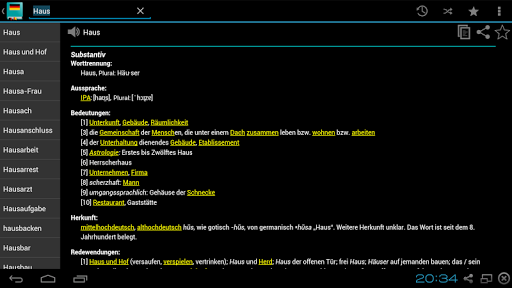 German Dictionary Offline screenshots 15