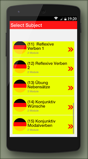 German grammar Exercises B1 1.0.5 screenshots 2