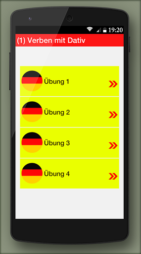 German grammar Exercises B1 1.0.5 screenshots 3