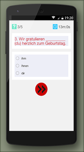 German grammar Exercises B1 1.0.5 screenshots 5