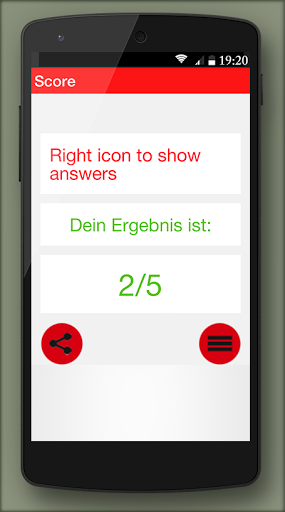 German grammar Exercises B1 1.0.5 screenshots 6