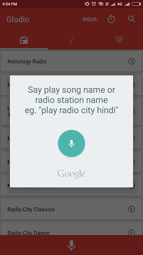 Glodio Global Radio 2.3.0 screenshots 2