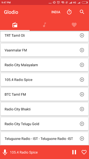 Glodio Global Radio 2.3.0 screenshots 6