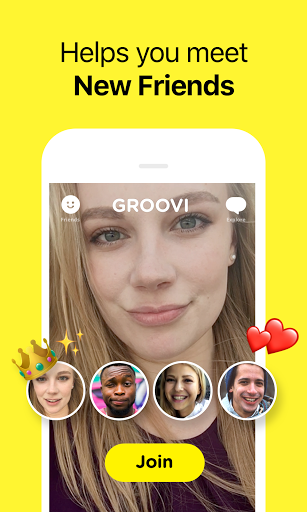 Groovi – Group Video Chat 1.4.0 screenshots 2