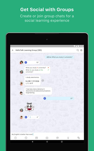 HelloTalk Learn Languages Free 2.4.7 screenshots 15
