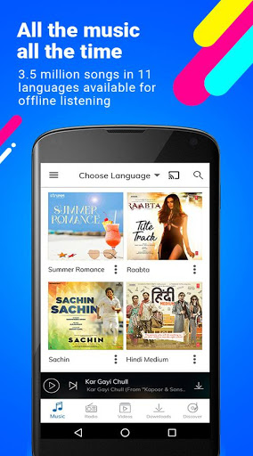 Hungama Music – Songs Radio amp Videos 4.8.10 screenshots 1