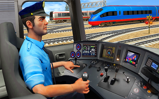 Indian Train City Driving Sim- Train Games 2018 1.0 screenshots 5