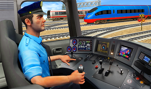 Indian Train City Driving Sim- Train Games 2018 1.0 screenshots 9