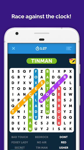 Infinite Word Search Puzzles screenshots 1