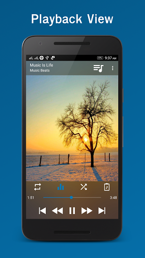 Laya Music Player 4.9 screenshots 2