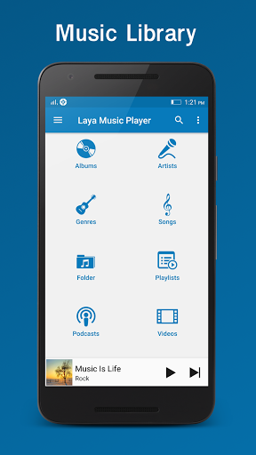 Laya Music Player 4.9 screenshots 3