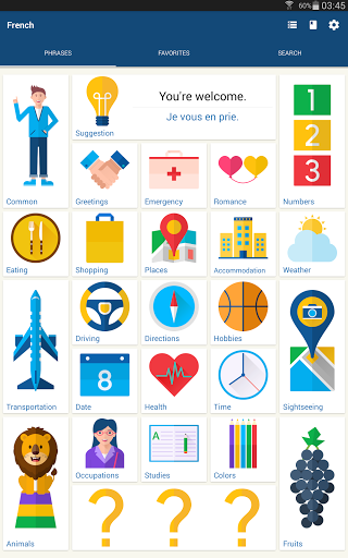 Learn French Phrases French Translator screenshots 5