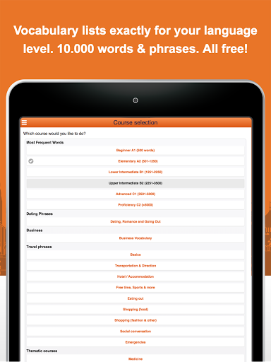 Learn French Vocabulary Free 2.6.1 screenshots 10