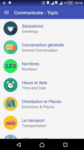 Learn French daily – Awabe 1.0.5 screenshots 2