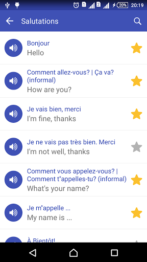 Learn French daily – Awabe 1.0.5 screenshots 3