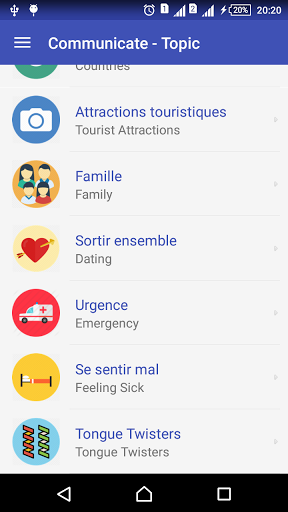 Learn French daily – Awabe 1.0.5 screenshots 5