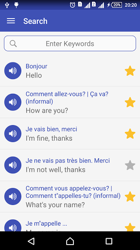 Learn French daily – Awabe 1.0.5 screenshots 7