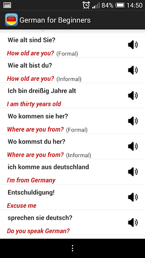 Learn German Beginners 1.2 screenshots 3
