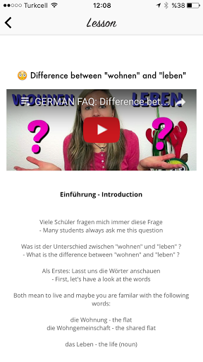 Learn German With Ania screenshots 3