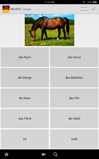Learn German with WordPic 1.4.4 screenshots 16