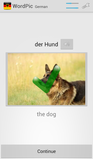 Learn German with WordPic 1.4.4 screenshots 4