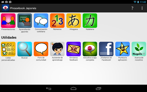 Learn Japanese Phrasebook 0.8.2 screenshots 7