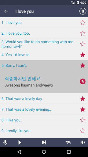 Learn Korean – Grammar 2.9.3 screenshots 3