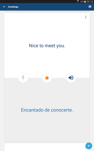 Learn Spanish Phrases Spanish Translator screenshots 7