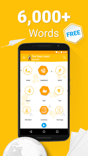 Learn Spanish Vocabulary – 6000 Words 5.38 screenshots 1