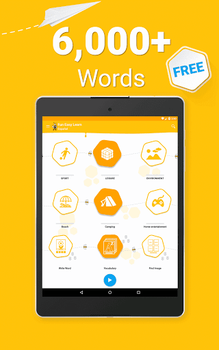 Learn Spanish Vocabulary – 6000 Words 5.38 screenshots 17