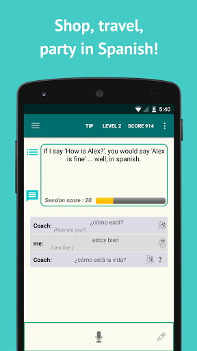 Learn Spanish with SpeakTribe screenshots 2