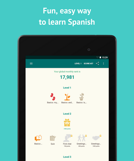 Learn Spanish with SpeakTribe screenshots 6