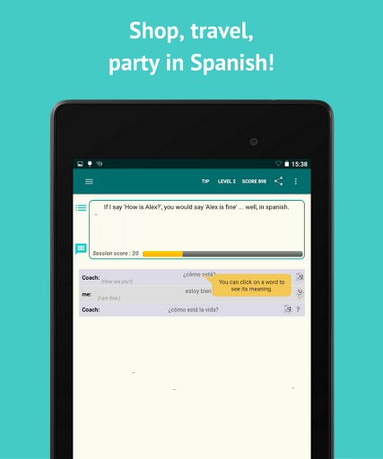 Learn Spanish with SpeakTribe screenshots 7